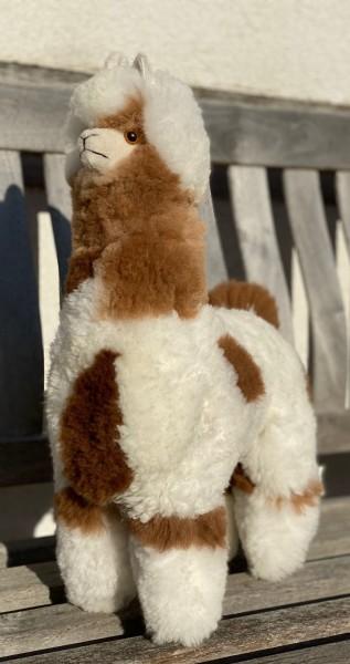 Alpaka Felltier 50 cm