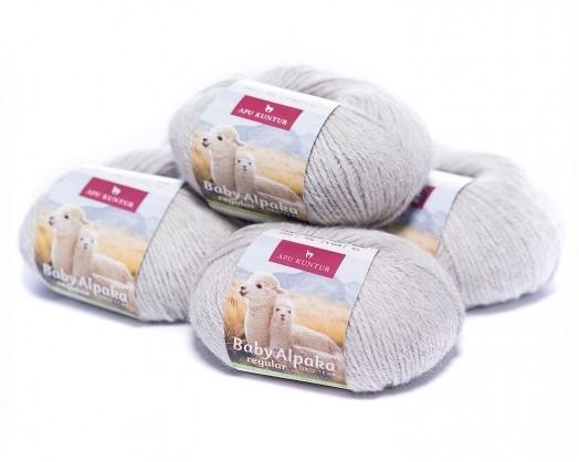 Alpaka Wolle regular 50g