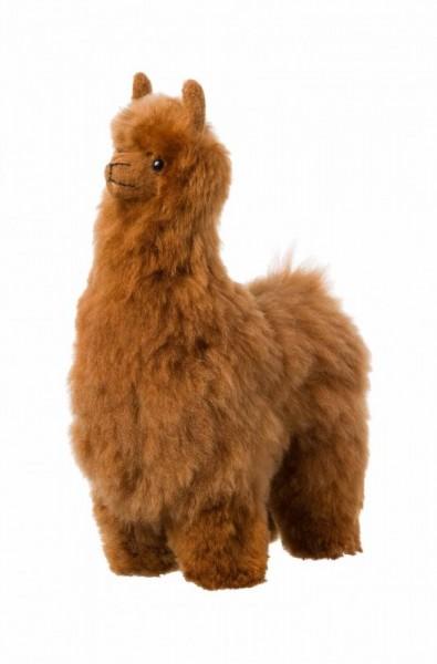 Alpaka Felltier Kuschel 30 cm