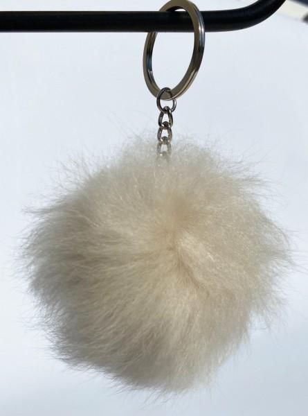 Alpakafell Schlüsselanhänger