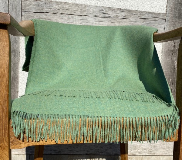 Decke/living blanket GRÜN