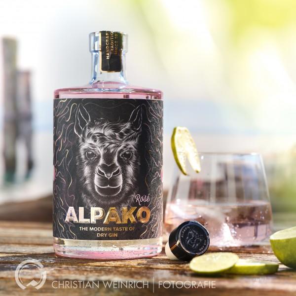 Alpako Gin Rosé, limitierte Auflage