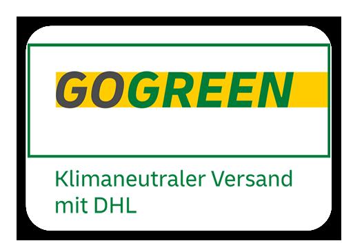 Wir unterstützen DHL Go-Green
